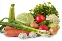 Common vegetables Royalty Free Stock Image