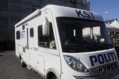 从COMMONDO的丹麦警察 免版税库存照片