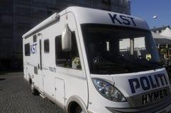 从COMMONDO的丹麦警察 库存照片