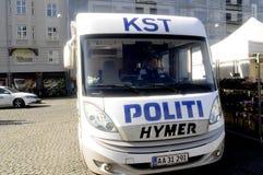从COMMONDO的丹麦警察 库存图片
