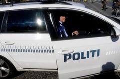 从COMMONDO的丹麦警察 免版税库存图片