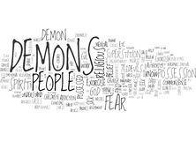 A Commonsense Guide To Exorcism Word Cloud Royalty Free Stock Image