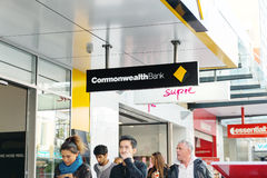 Commonwealth bank, australia Stock Image