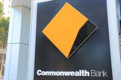 Commonwealth Bank. Of Australia.  also known as CBA is one of the four largest bank in Australia Stock Photos
