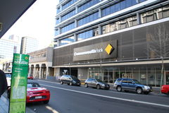Commonwealth bank building in Sydney. A building of the commonwealth bank in Sydney, Australia Royalty Free Stock Photography