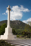 Commonwealth Cementry - Montecassino Stock Photo