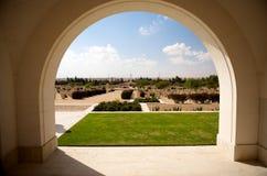 Commonwealth Cemetery in El Alamein. War graves in the Saharan Desert at the Commonwealth Cemetery in El Alamein, Egypt Stock Photos