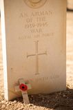 Commonwealth Cemetery In El Alamein Royalty Free Stock Images