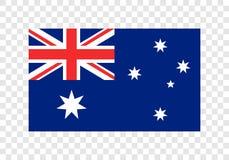 Commonwealth d'Australie - drapeau national illustration stock