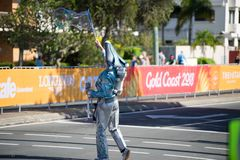 2018 Commonwealth Games entertainment Stock Images