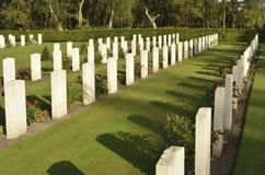 Commonwealth-Kriegs-Gräber Lizenzfreie Stockbilder