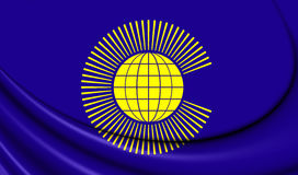 Commonwealth of Nations Flag Royalty Free Stock Photos