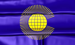 Commonwealth of Nations Flag Royalty Free Stock Photo