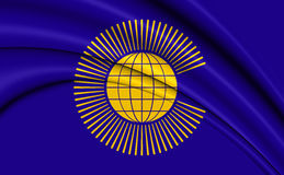 Commonwealth of Nations Flag. Royalty Free Stock Images