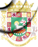 Commonwealth of Puerto Rico coat of arms. 3d Rendered Commonwealth of Puerto Rico coat of arms Stock Photos