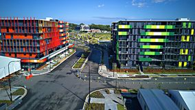 Commonwealth-Spielathleten Dorf Gold Coast Australien 2018 Stockfoto