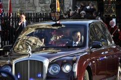 Commonwealth-Tag Markierungen der Königin Elizabeth II Lizenzfreie Stockfotos