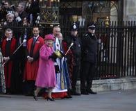 Commonwealth-Tag Markierungen der Königin Elizabeth II Stockfotografie