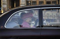 Commonwealth-Tag Markierungen der Königin Elizabeth II Stockbild