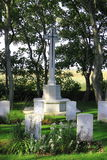 Commonwealth War Cemetery Nes, Ameland, Holland Royalty Free Stock Image