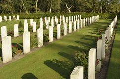 Commonwealth War Graves Royalty Free Stock Images