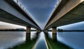 Commonwealthalleenbrücke Lizenzfreies Stockbild