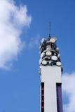 Comms Kontrollturm stockbilder