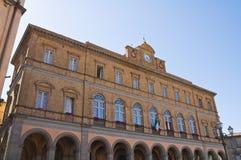 Communal palace. Acquapendente. Lazio. Italy. Stock Images