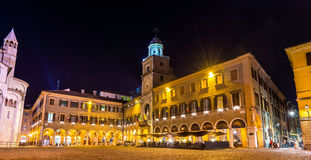 The Communal Palace, the town hall of Modena Stock Image