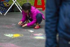 Communautair Activiteitencentrum, Limin-Recreatie, de Nieuwe Taipeh Stad van Taiwan, het Levensfestival stock foto