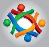 Communautair concept stock illustratie