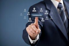 Communautair concept royalty-vrije stock foto's