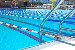 Communautair Zwembad Stock Afbeeldingen