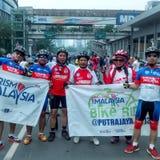 Communautaire cyclus Stock Foto