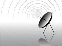 Communicatie antenne royalty-vrije illustratie