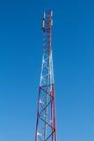 Communicatie antennetoren Stock Fotografie