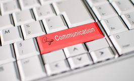 Communicatie concept Royalty-vrije Stock Foto