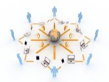 Communicatie concept Royalty-vrije Stock Fotografie