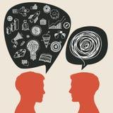Communicatie concept vector illustratie