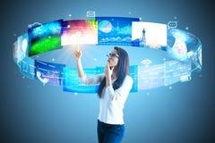 Communicatie concept Royalty-vrije Stock Afbeeldingen
