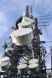 Communicatie Mast Stock Foto's