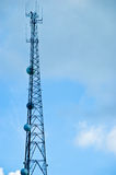Communicatie Mast - de Toren van het Staal Royalty-vrije Stock Foto