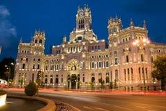 Communicatie Paleis van Madrid Stock Fotografie