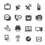 Communicatie pictogram Stock Afbeelding