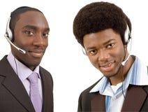 Communicatie Team stock foto