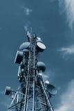 Communicatie Toren Stock Foto