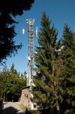 Communicatie Toren: Gsm, UMTS, 3G en radio Stock Foto's