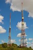Communicatie torens Royalty-vrije Stock Fotografie