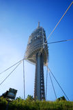Communicatie van Barcelona Toren Stock Afbeelding
