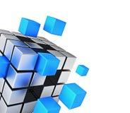 Communicatie van bedrijfsgroepswerkinternet concept Royalty-vrije Stock Afbeelding